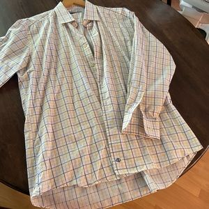 Men's Button Up David Donahue Shirt